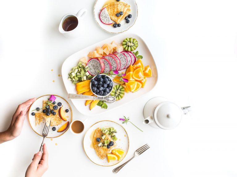 Kleurrijk en gezond eten