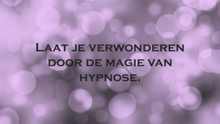Verwonderen door hypnose