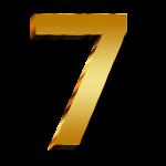 7 - inspirerend getal
