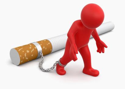 Geketend aan de sigaret