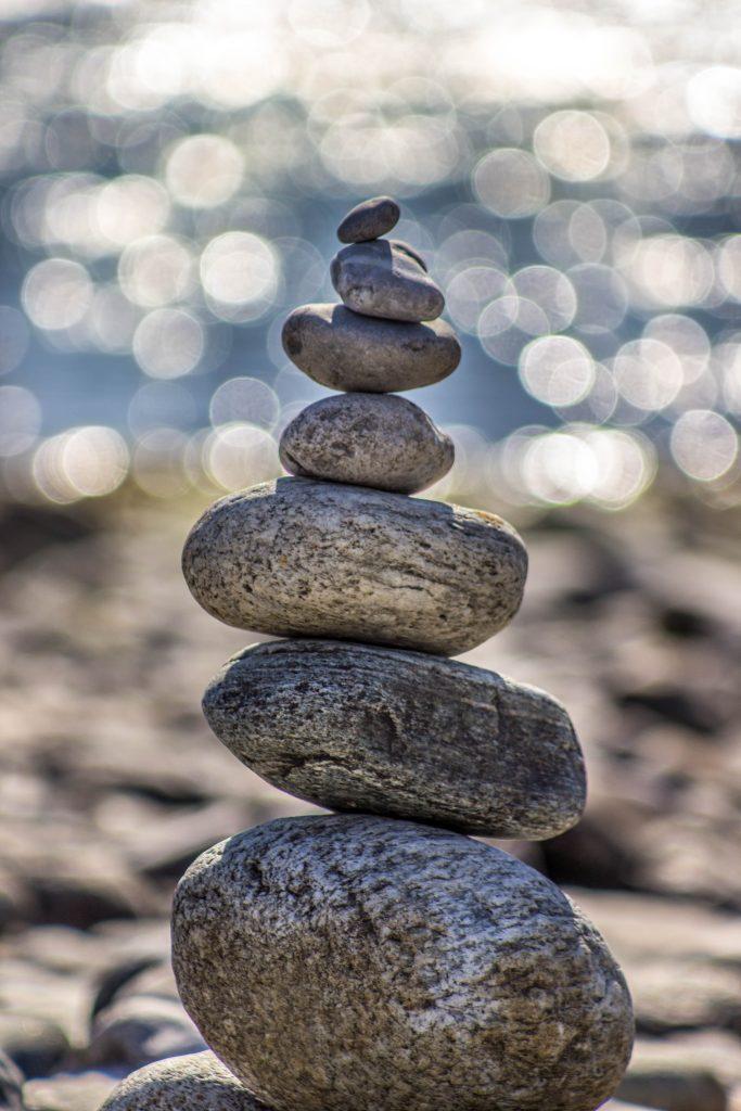 Balans stenen hypnose