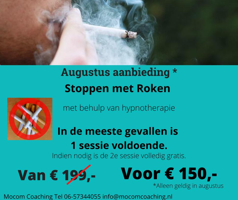 Aanbieding Stoppen met Roken