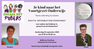 Je kind naar VO 24 sept.2020