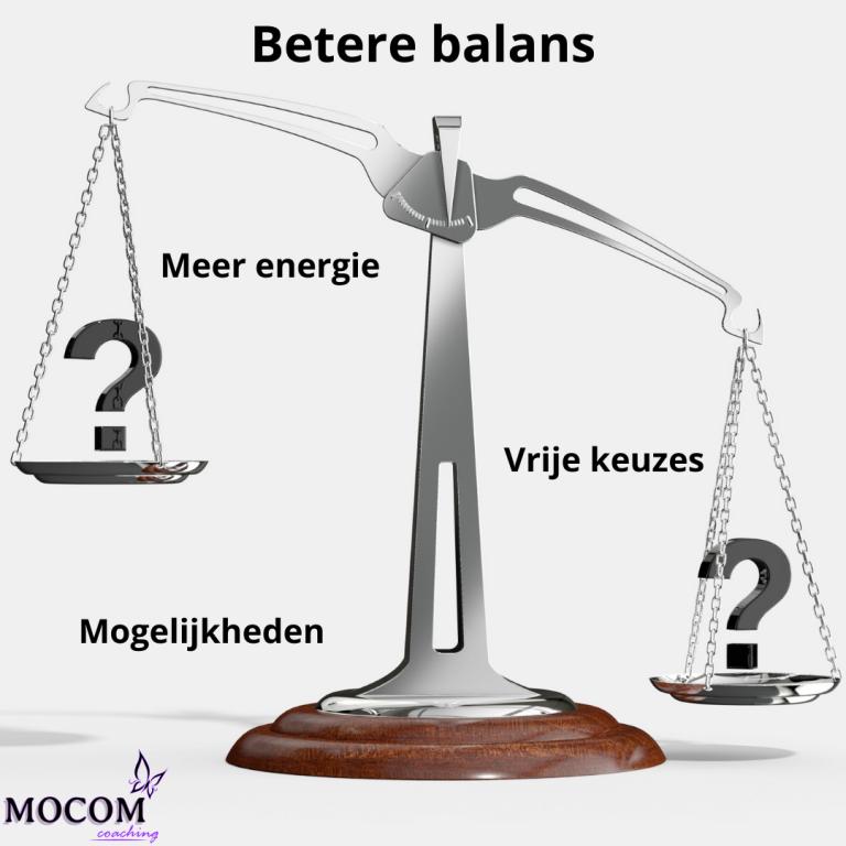 Balans - energie - mogelijkheden - keuzes
