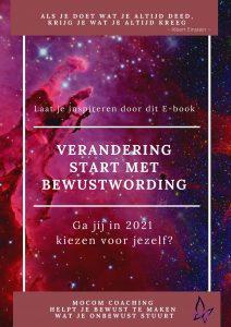E-book omslag Verandering Start Met Bewustwording